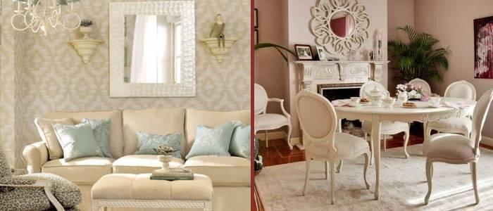 El estilo rom ntico muebles ogaru for Muebles romanticos blancos