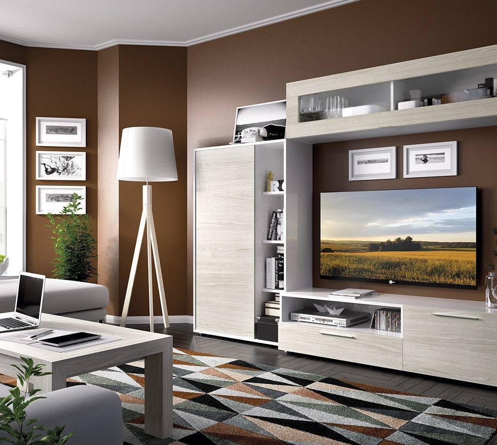 Sal n duo 17 salones rimobel muebles ogaru galvez toledo for Modulos para salon