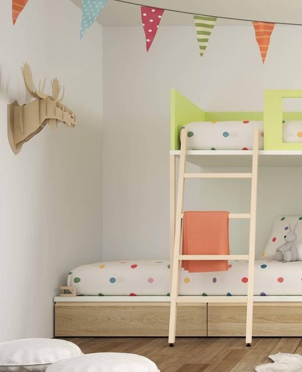 Detalle-escalera-liera-habitacion-Verona